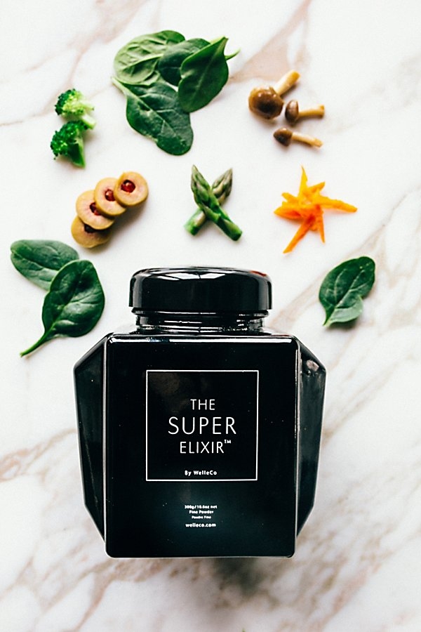 Slide View 1: The Super Elixir Alkalizing Greens