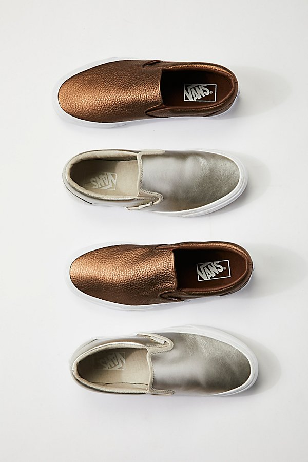 Slide View 1: Metallic Classic Slip-On