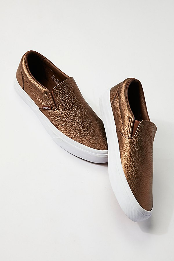 Slide View 2: Metallic Classic Slip-On