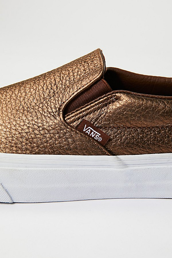 Slide View 3: Metallic Classic Slip-On