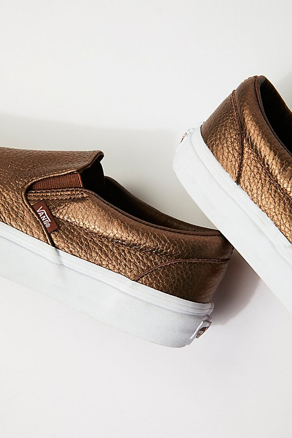 Slide View 4: Metallic Classic Slip-On