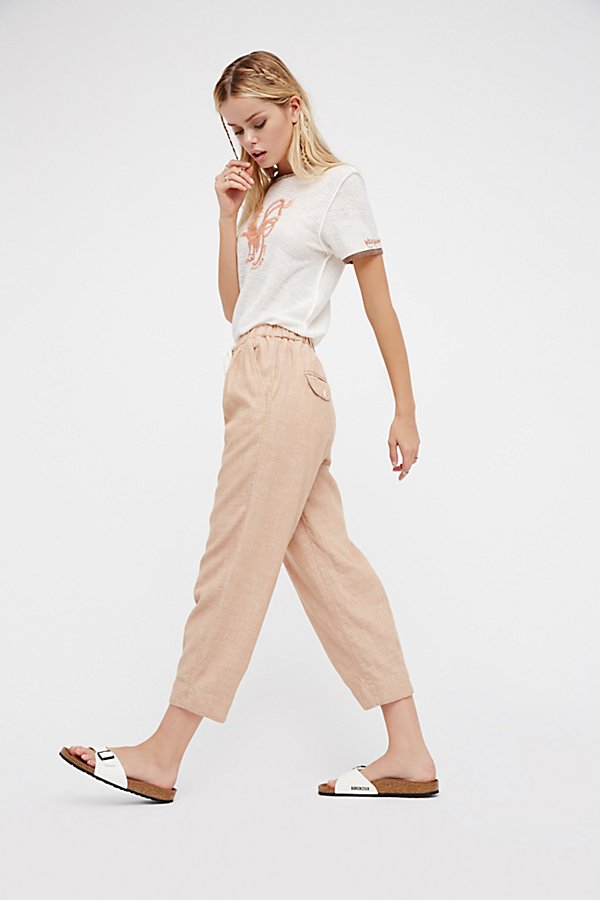 Slide View 5: Everyday Chambray Pull-On Pants