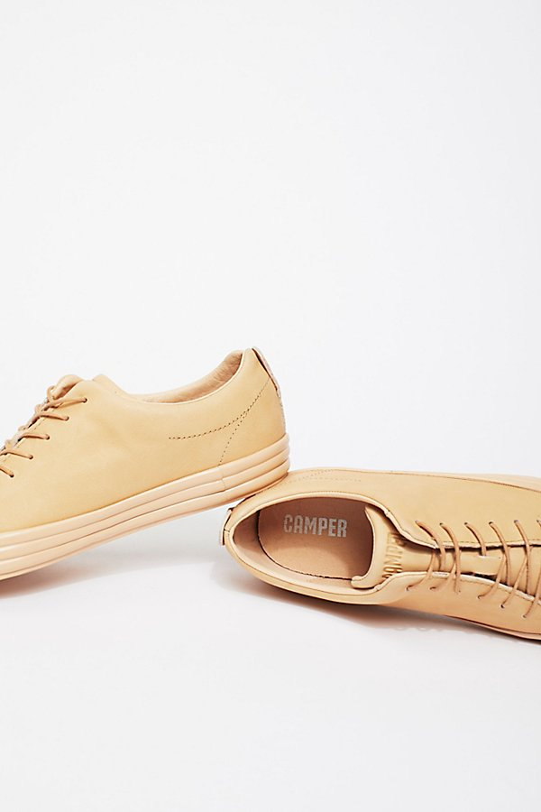 Slide View 4: Camper Leather Sneaker