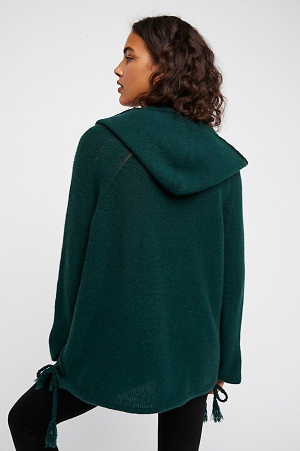 Slide View 3: Cashmere Hoodie