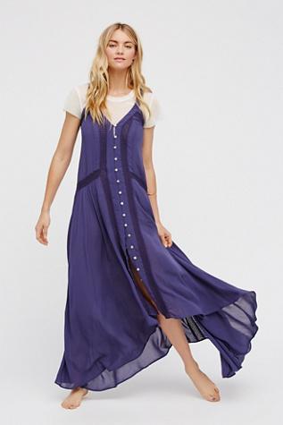 Kimmi Maxi Slip Dress Free People
