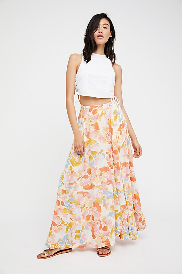 Slide View 1: Hot Tropics Maxi Skirt