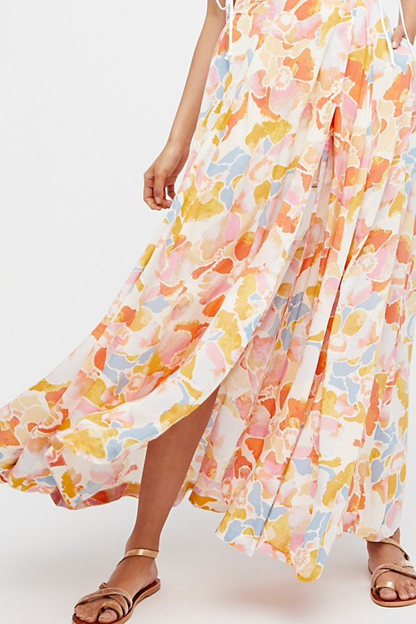 Slide View 4: Hot Tropics Maxi Skirt