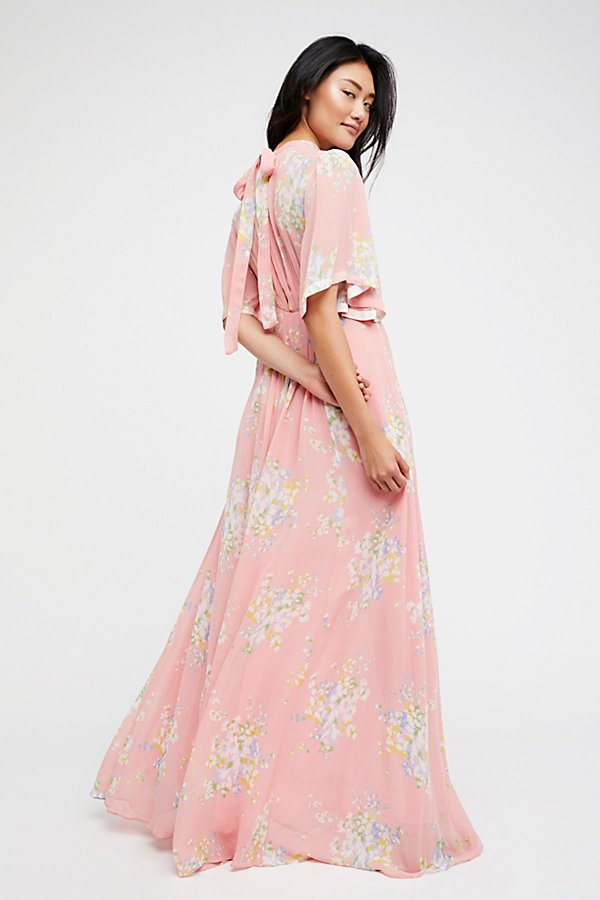 Slide View 2: Wildflowers Maxi Dress