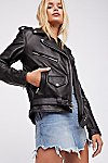Thumbnail View 1: Easy Rider Leather Jacket
