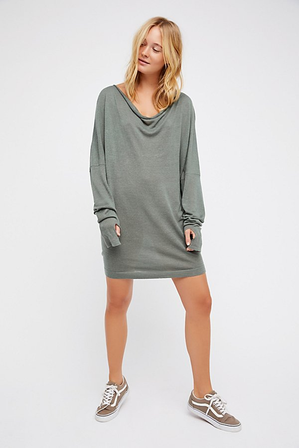 Slide View 5: Crescent Sweater Dress