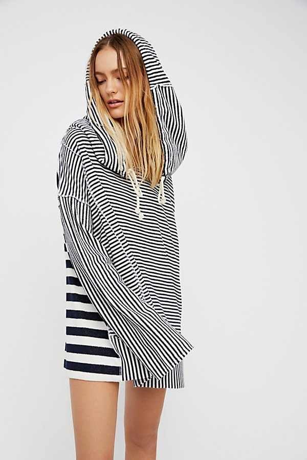 Slide View 1: Shoulders and Stripes Hoodie