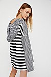 Thumbnail View 2: Shoulders and Stripes Hoodie