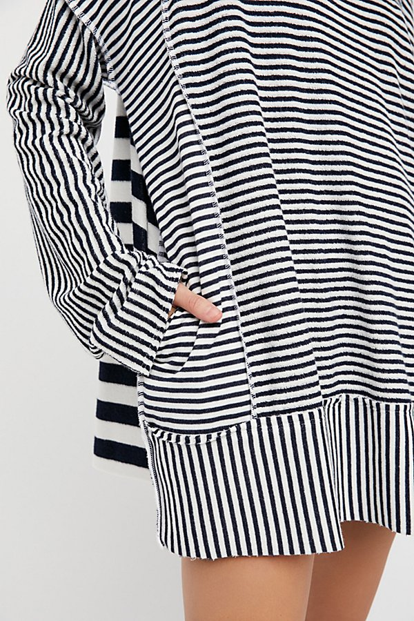 Slide View 5: Shoulders and Stripes Hoodie