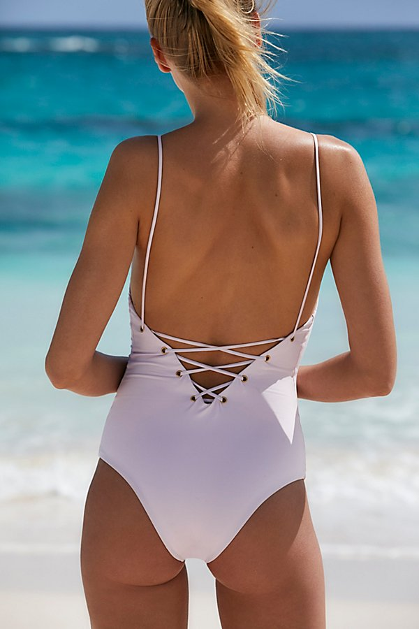 Slide View 1: Monahan One Piece Swimsuit