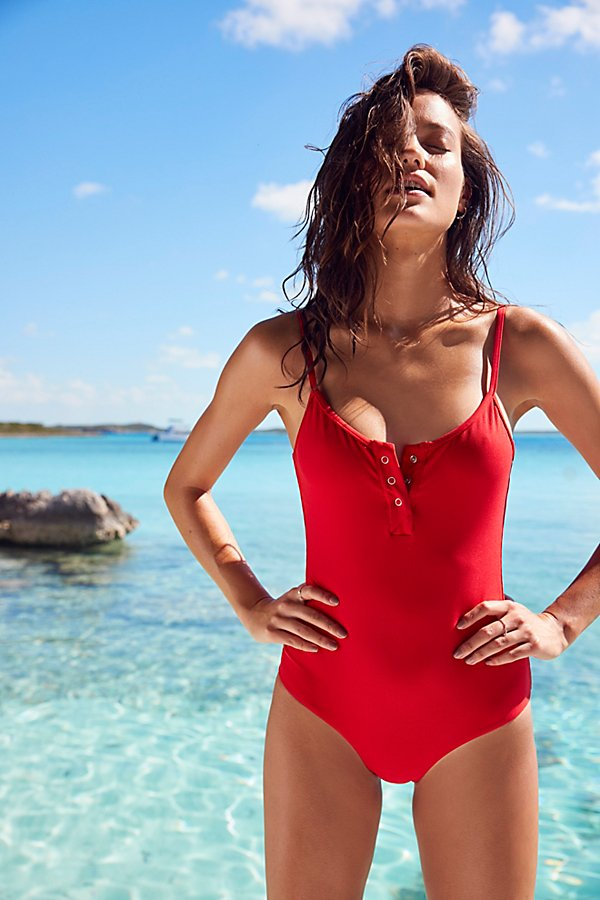 Slide View 2: Lila One Piece Swimsuit