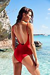 Thumbnail View 3: Lila One Piece Swimsuit