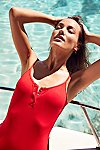 Thumbnail View 4: Lila One Piece Swimsuit