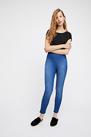 Easy Goes It Denim Legging