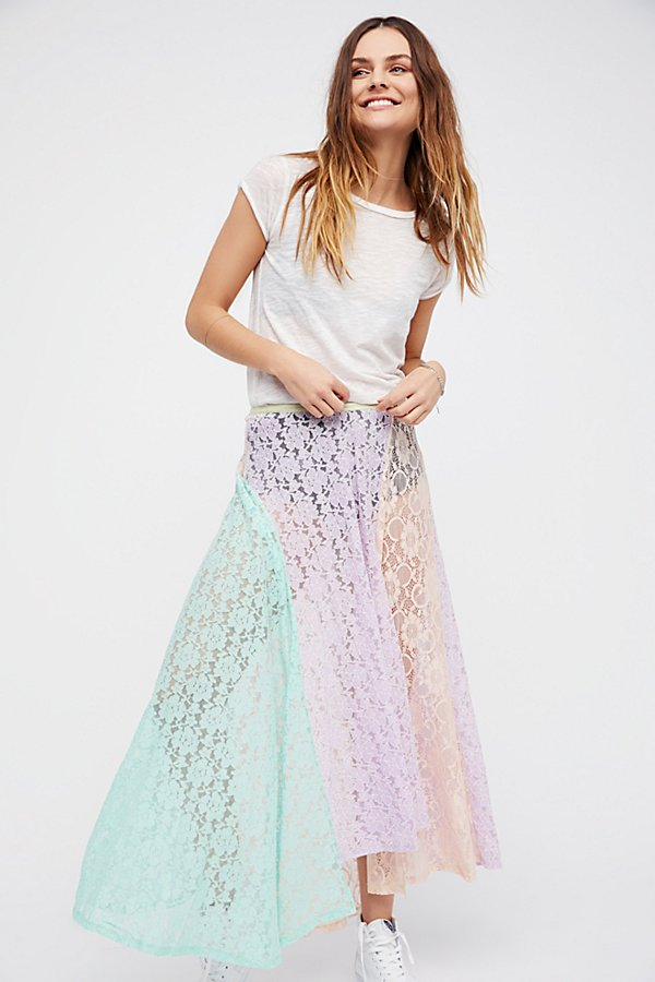 Slide View 4: Color Me Maxi Skirt