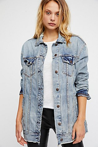 Long Denim Jacket | Free People