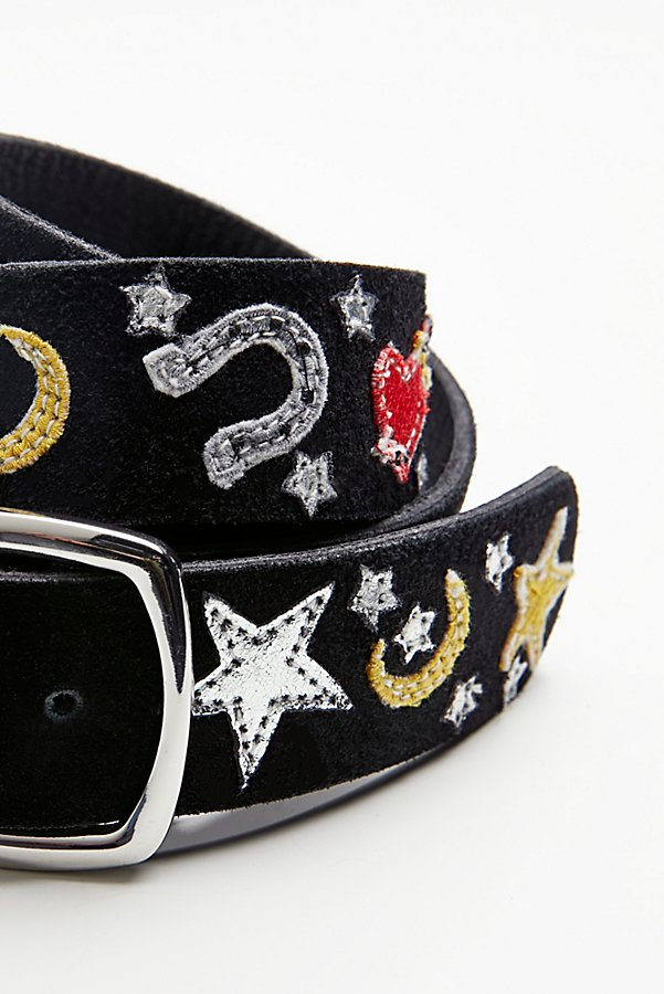 Slide View 3: Embroidered Icon Belt