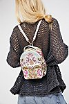 Thumbnail View 5: Brocade Floral Mini Backpack