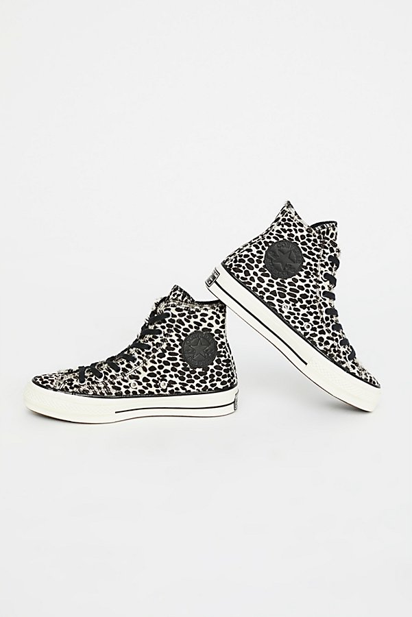 Slide View 1: Leopard High Top Trainer