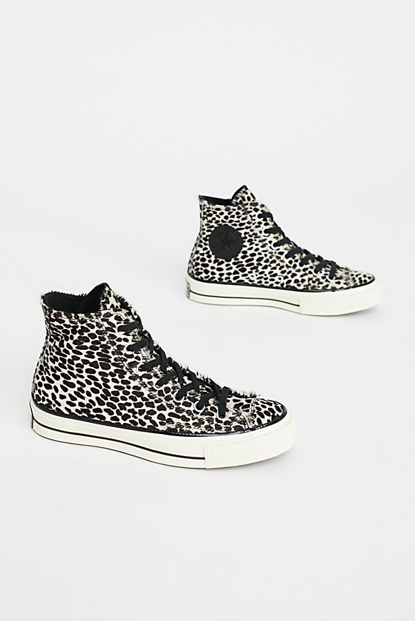 Slide View 2: Leopard High Top Trainer