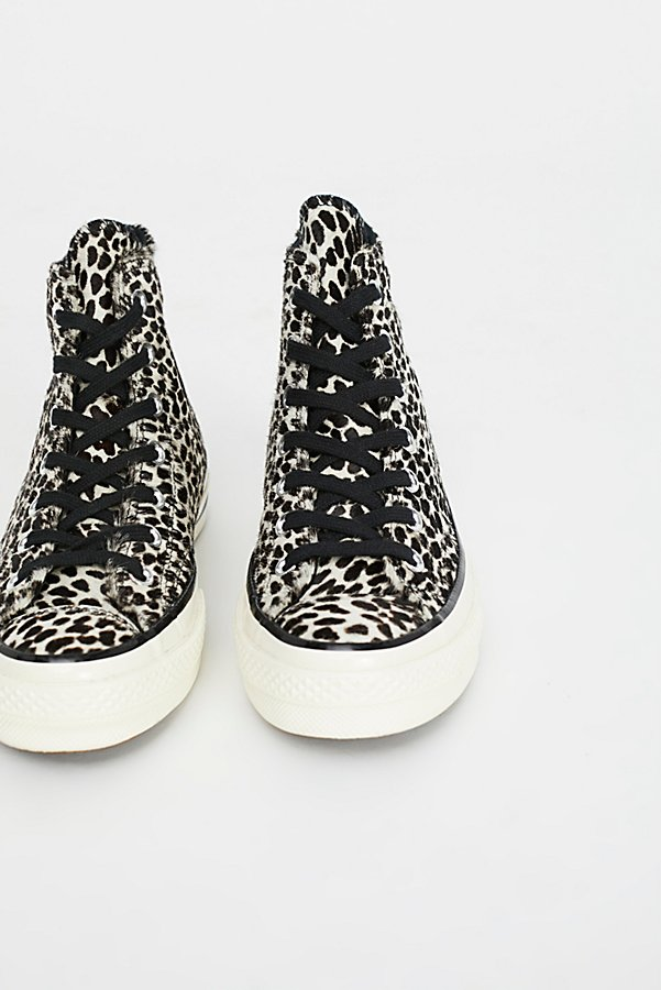 Slide View 3: Leopard High Top Trainer