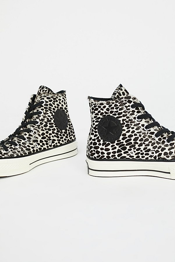 Slide View 4: Leopard High Top Trainer