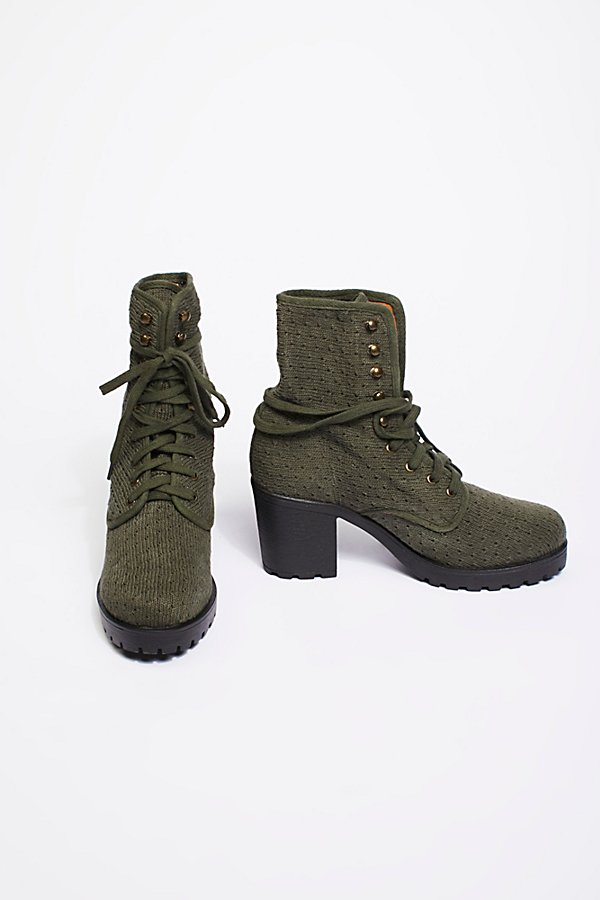 Slide View 2: Vegan Agency Lace-Up Boot
