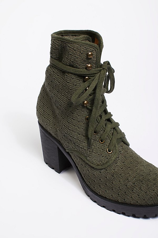 Slide View 4: Vegan Agency Lace-Up Boot