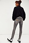 Thumbnail View 2: Jackie Embroidered Skinny Jeans
