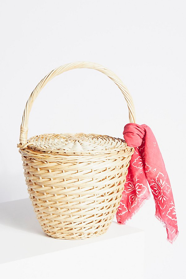 Slide View 2: Straw Basket