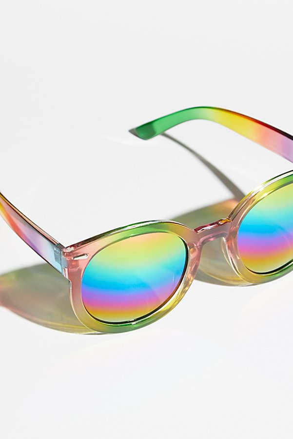 Slide View 4: Double Rainbow Sunglasses
