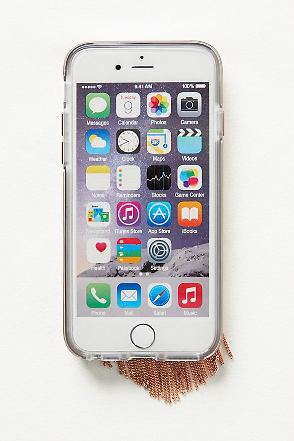 Slide View 4: Chain Fringe iPhone Case