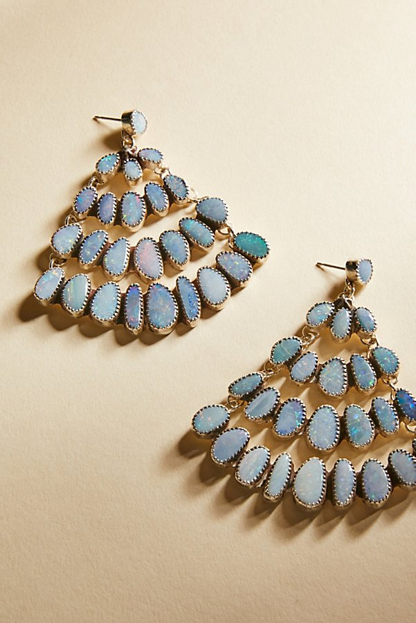 Raw Stone Chandelier Earrings | Free People