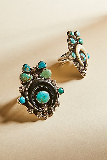 Turquoise Horn Ring