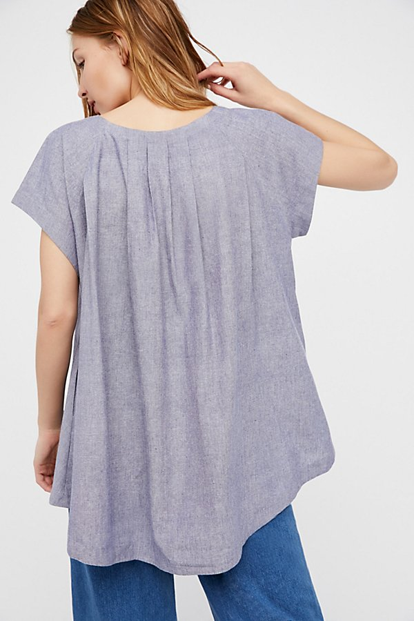 Slide View 2: Crazy Hearts Chambray Top