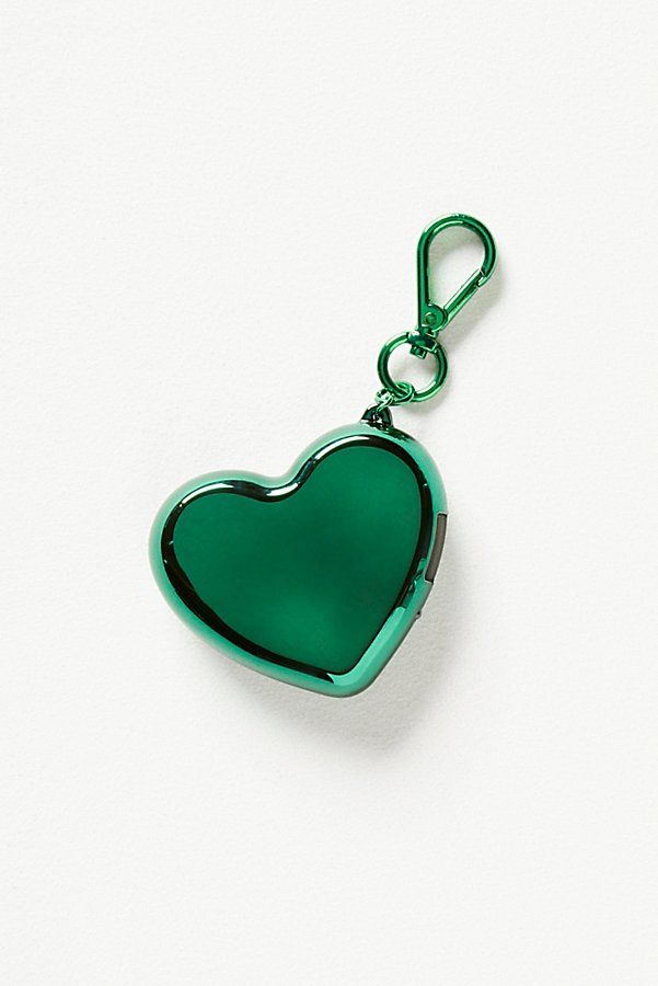 Slide View 2: Heart Charger Keychain