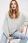 Thumbnail View 1: Striped Dolman Swing Blouse