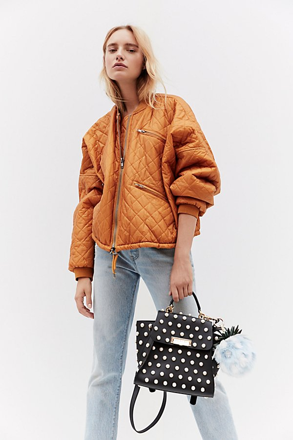 Slide View 1: Easy Quilted Bomber