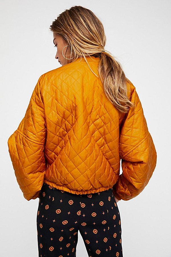 Slide View 4: Easy Quilted Bomber