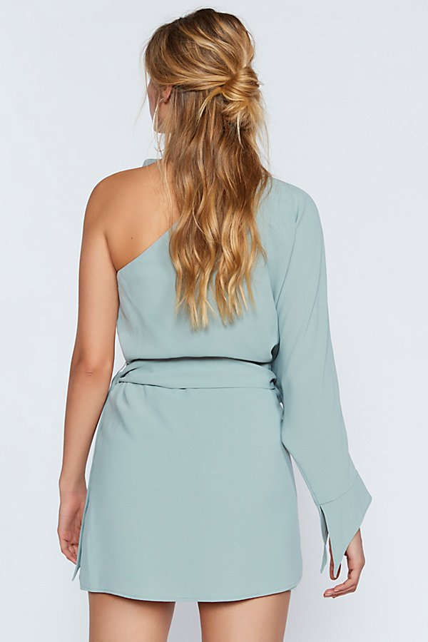 Slide View 3: Everlasting One-Shoulder Dress