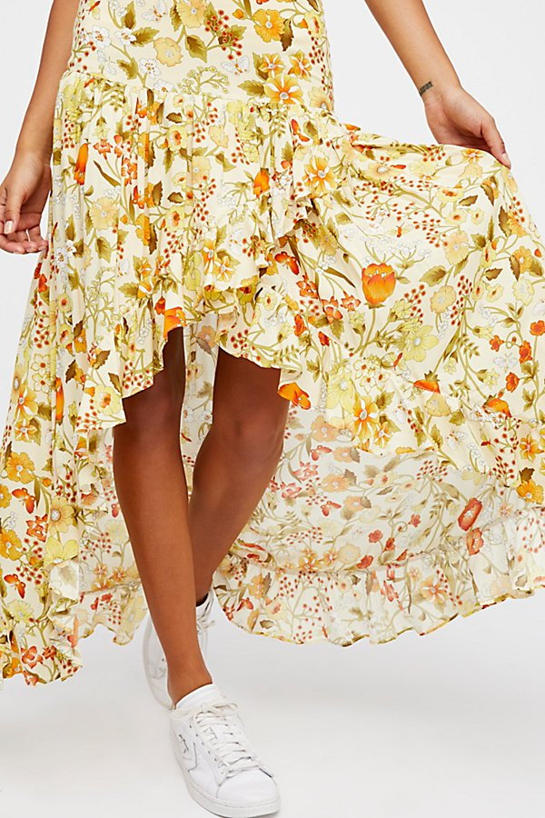 Slide View 3: Sayulita Frill Split Skirt