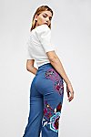 Thumbnail View 4: Flower Child Denim Flares