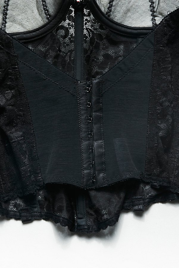 Slide View 4: Vintage 1980s Lace Corset