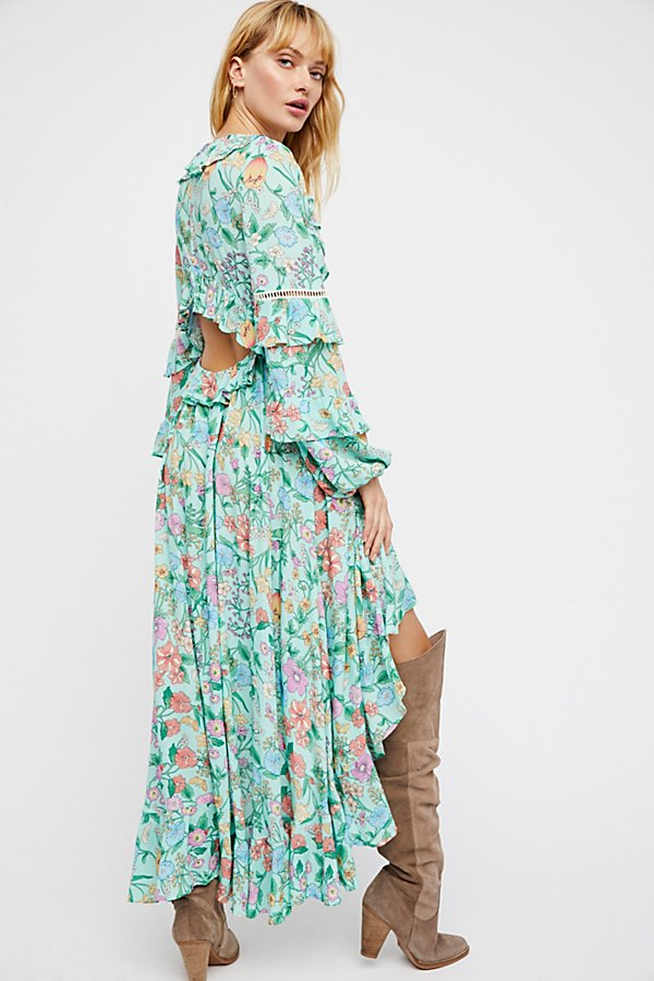 Slide View 2: Sayulita Frill Gown