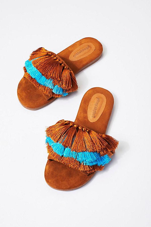 Slide View 2: Watercolor Tassel Sandal