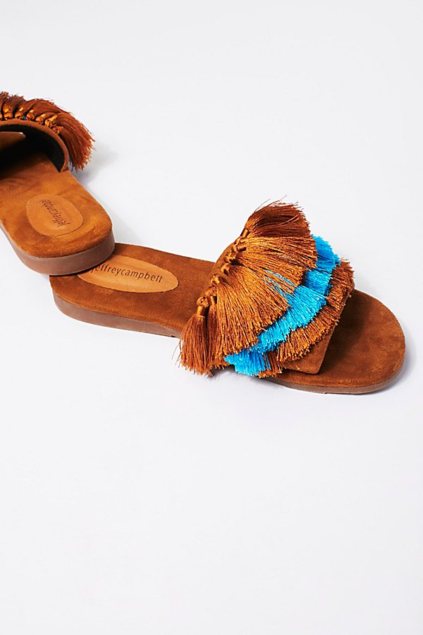 Slide View 4: Watercolor Tassel Sandal